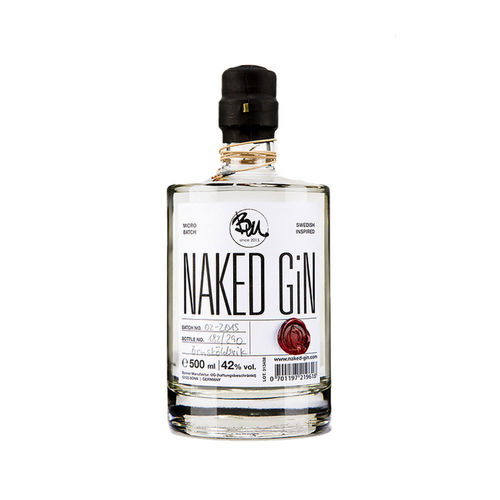 naked GiN - small batch premium GiN