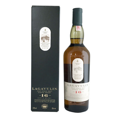 Lagavulin 16 - Single Malt Islay Whisky, 0,2l