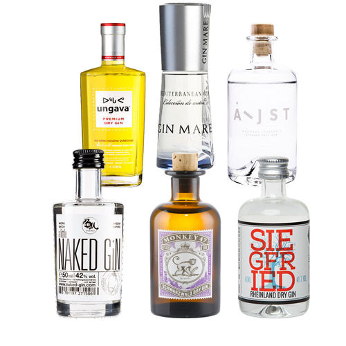 Gin Mini Tasting Set Vol. II - 6 mal original Gin minis