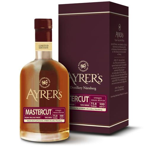 Ayrer´s Mastercut 2011 - Organic Single Malt Whisky, 75,8% Vol.