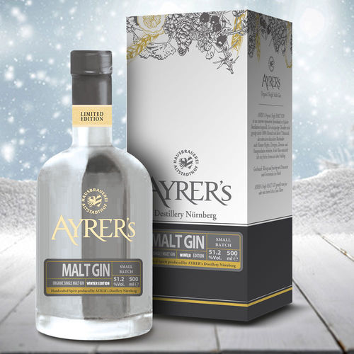 Ayrer´s Malt Gin - Malt Gin Winter Edition