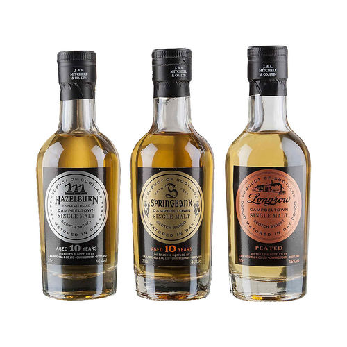 Springbank 3er Tasting Box - Single Malt Whisky (3x0,2l)