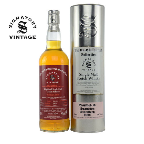 Deanston Signatory Vintage 1st Fill Sherry Butt, 11 Jahre