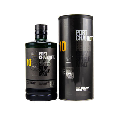 Port Charlotte 10 Jahre-  Heavily Peated Islay Single Malt Whisky