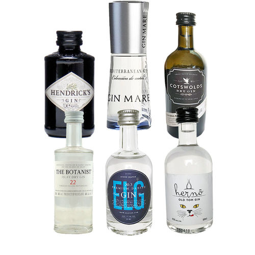 Gin Mini Tasting Set Vol. III - 6 x original Gin minis