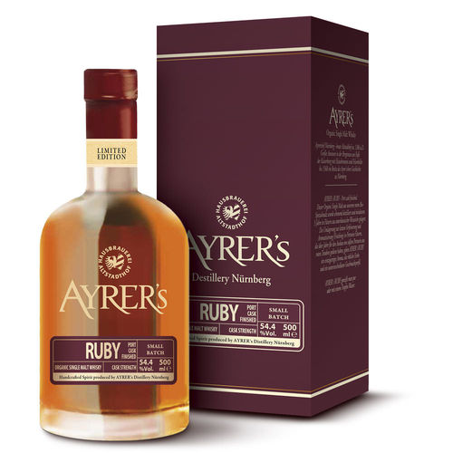 Ayrer´s Ruby - Organic Single Malt Whisky
