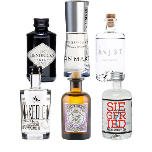 Gin Mini Tasting Set Vol. II - 6 x original Gin minis