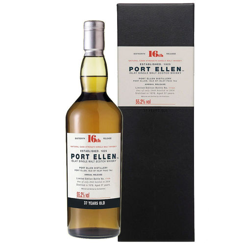 Port Ellen Islay Single Malt Whisky - 37 Years 16th Release