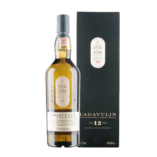 Lagavulin 12 - Single Malt Islay Whisky, Cask Strength