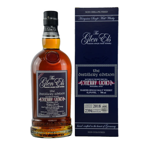 Glen Els Distillery Edition 2018 - Single Malt Whisky
