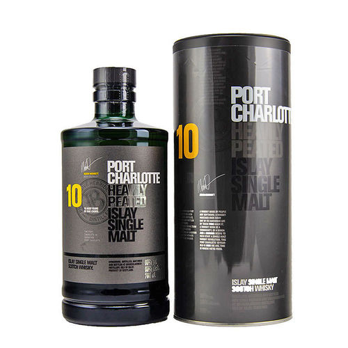 Bruichladdich Port Charlotte 10 Jahre-  Heavily Peated Islay Single Malt Whisky