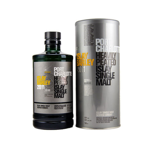 Bruichladdich Port Charlotte Islay Barley 2011 - Heavily Peated Islay Single Malt Whisky