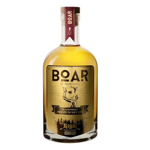 Boar Royal Premium Dry Gin (0,5l) Im Barrique gereift