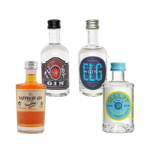 Gin mini Collection No. 3 - 4 x original Gin mini Fläschchen