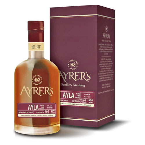 Ayrer´s AYLA - light peated cask strength Single Malt Whisky