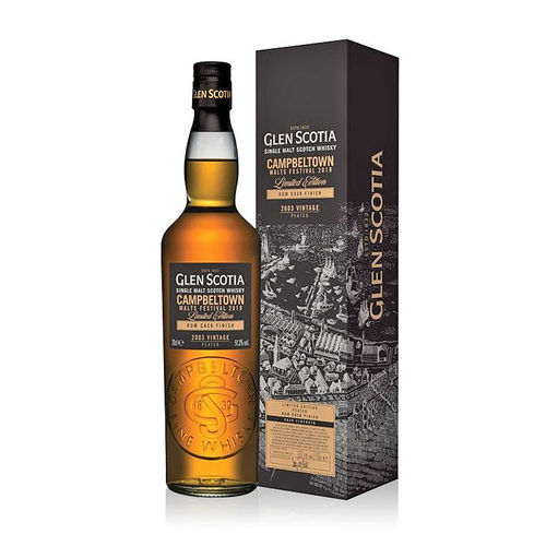 Glen Scotia Festival Edition 2019 Vintage 2003 Peated Rum Finish