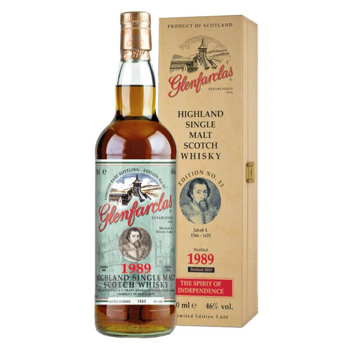 Glenfarclas Limited Rare Bottling - Edition No. 23 - Vintage 1989