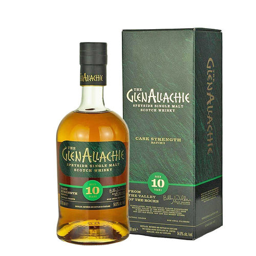GlenAllachie 10 Jahre, Cask Strength, Batch 02