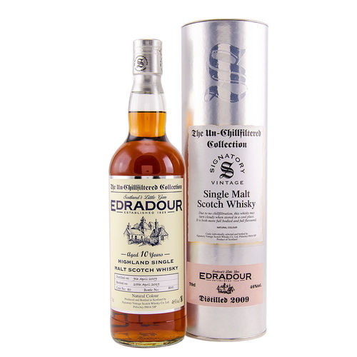 Edradour 2009/2019 - Signatory Highland Single Malt Whisky