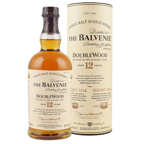 Balvenie 12 Jahre Doublewood, Single Malt Scotch Whisky