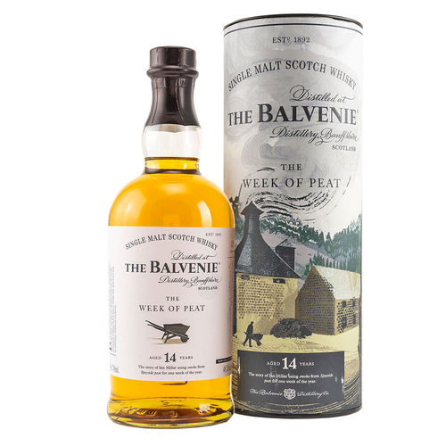 Balvenie 14 Jahre The Week of Peat, Single Malt Scotch Whisky