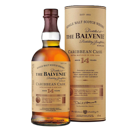 Balvenie 14 Jahre Carribean Cask, Single Malt Scotch Whisky