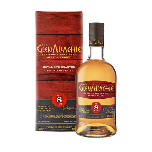 GlenAllachie 8 Jahre - Koval Rye Wood Finish - Wood Finish Series #1
