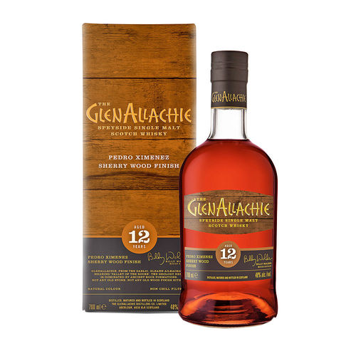 GlenAllachie 12 Jahre - Pedro Ximenez Finish - Wood Finish Series #1