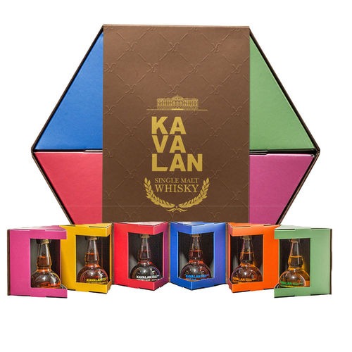 Kavalan Potstill Minicollection 6 x 50ml Kavalan Whisky