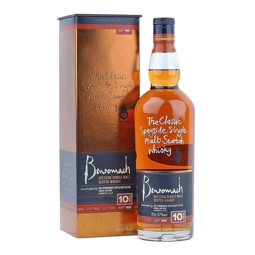 Benromach 10 Jahre 100 Proof, Speyside Single Malt Scotch Whisky
