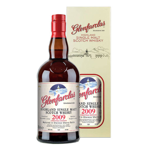 Glenfarclas Christmas Single Malt Highland Whisky - Vintage 2009
