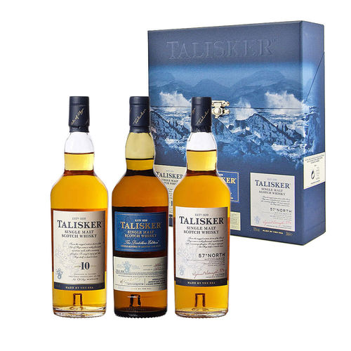 Talisker Single Malt Scotch Whisky Collection (3x0,2l)