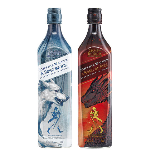 Johnnie Walker - Song of Fire and Ice Bundle (2x0,7l)