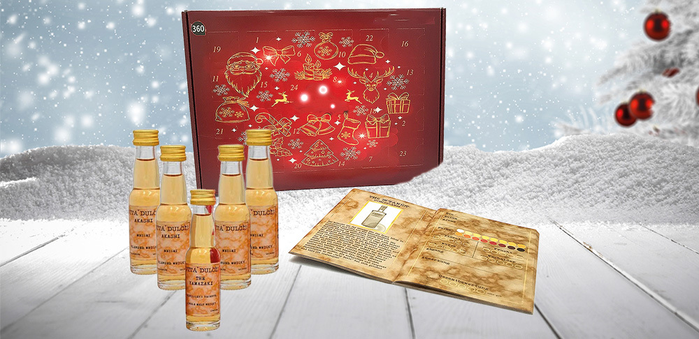 Whisky Gin Rum Adventskalender - Edition 2019