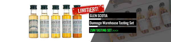 Glen Scotia Dunnage Warehouse Tasting Set