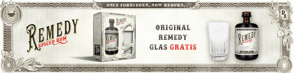 Remedy Spiced Rum bei FrankBauer360