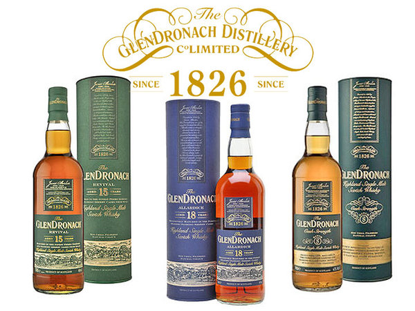 GlenDronach Highland Single Malt Scotch Whisky