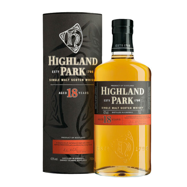 Highland Park 18 Single Malt