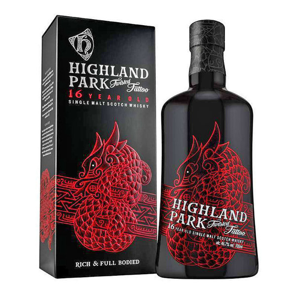 Highland Park Twisted Tattoo - 16 Jahre