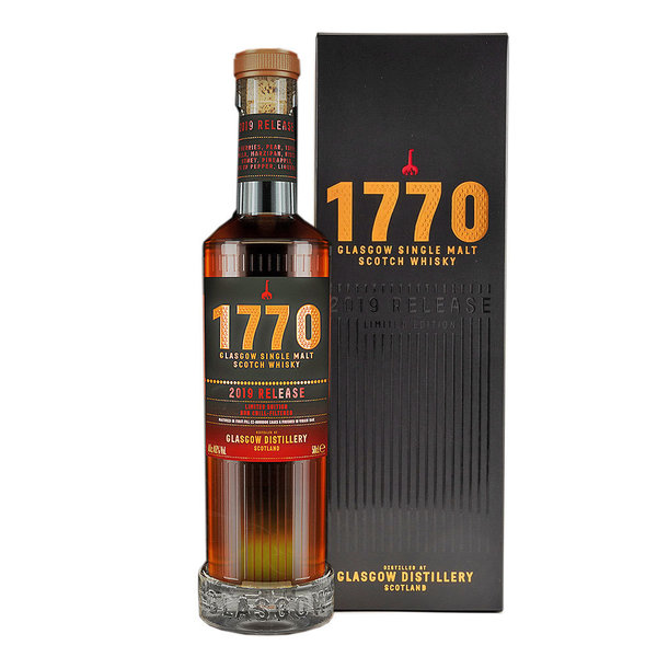 1770 Glasgow Single Malt Whisky, 2019 Release