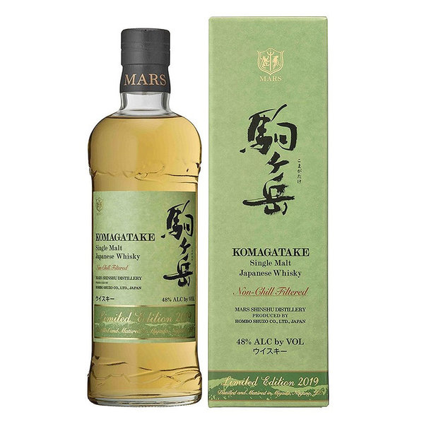 Mars Komagatake Limited Edition 2019 Single Malt Japanese Whisky