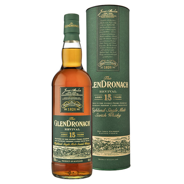 GlenDronach 15 Jahre Revival Single Malt Whisky