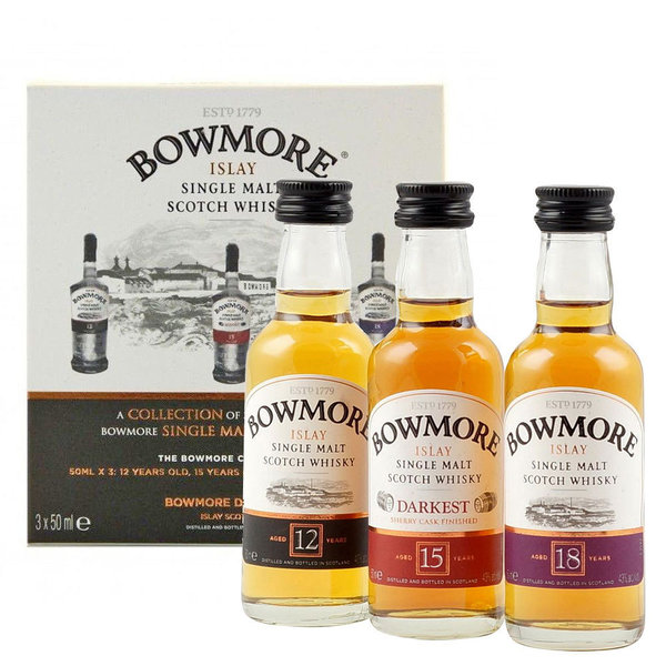 Bowmore The Bowmore mini Collection Islay Single Malt Scotch Whisky