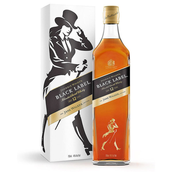 "Johnnie Walker - Black Label 12 Jahre ""The Jane Walker Edition"""