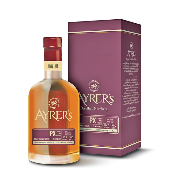 Ayrer´s PX 56 - Sherry Cask finished Single Malt Whisky