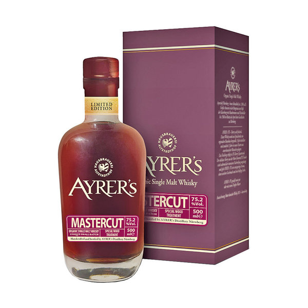 Ayrer´s Mastercut 2020 - Single Malt Whisky, 75,8% Vol.