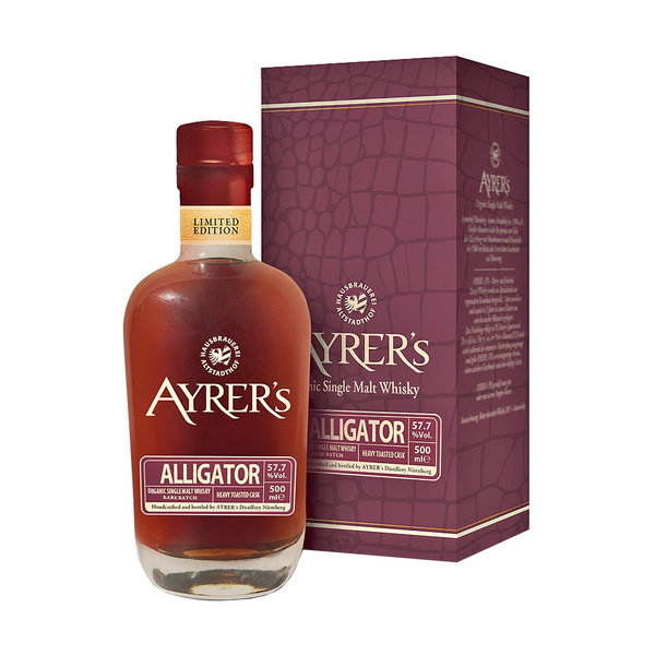 Ayrer´s Alligator - Single Malt Whisky, Rare Batch