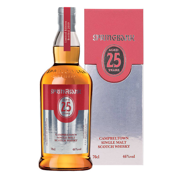 Springbank 25 Jahre - Campbeltown Single Malt Scotch Whisky