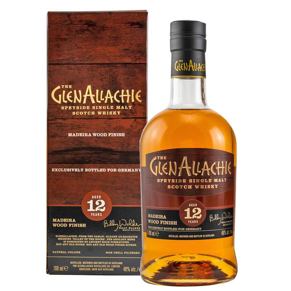GlenAllachie 12 Jahre, Madeira Wood Finish
