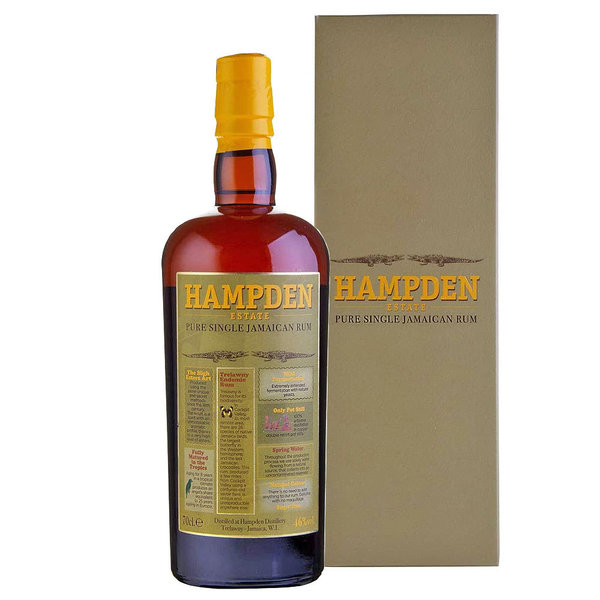 Hampden Pure Single Jamaican Rum (0,7l)